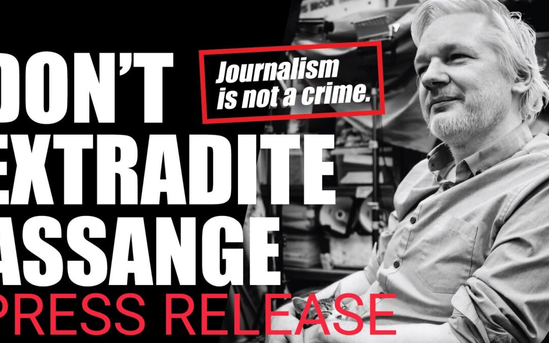 Julian Assange – John Pilger: 'Extradition Trial Is A Show Trial'