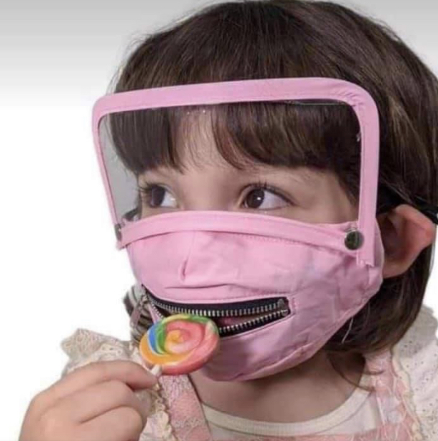 """""""I can't breathe in this mask!"""" End This Child Abuse"""