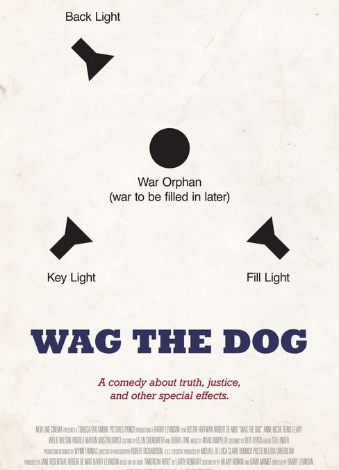 """Sunday Night Film: """"Wag The Dog"""" (Featuring: """"Washington's Top Spin Doctor…"""")"""