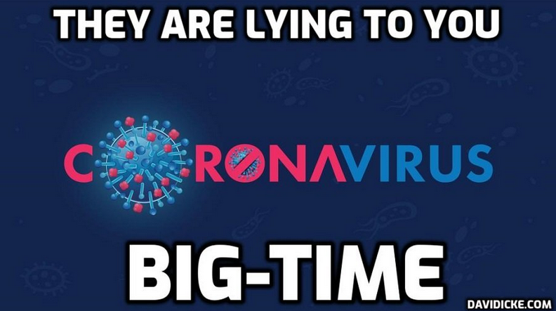"""David Icke – Dot Connector: """"The Simple Truth – There Is No 'Virus'."""""""
