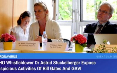 """Dr. Astrid Stuckelberger – W.H.O. Whistleblower: """"We Don't Have Debate, We Have Censorship. Censorship Is The First Sign Of A Dictatorship."""""""